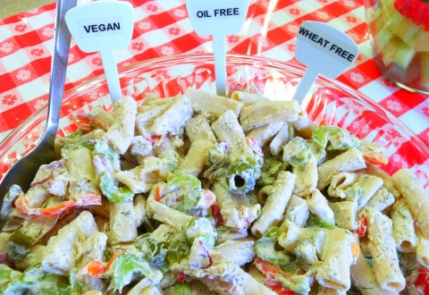 Oil Free Vegan Pasta Dish