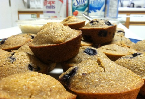 blueberry muffins dairy free